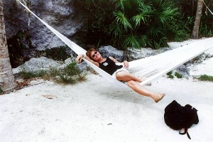 Sue in Hammock