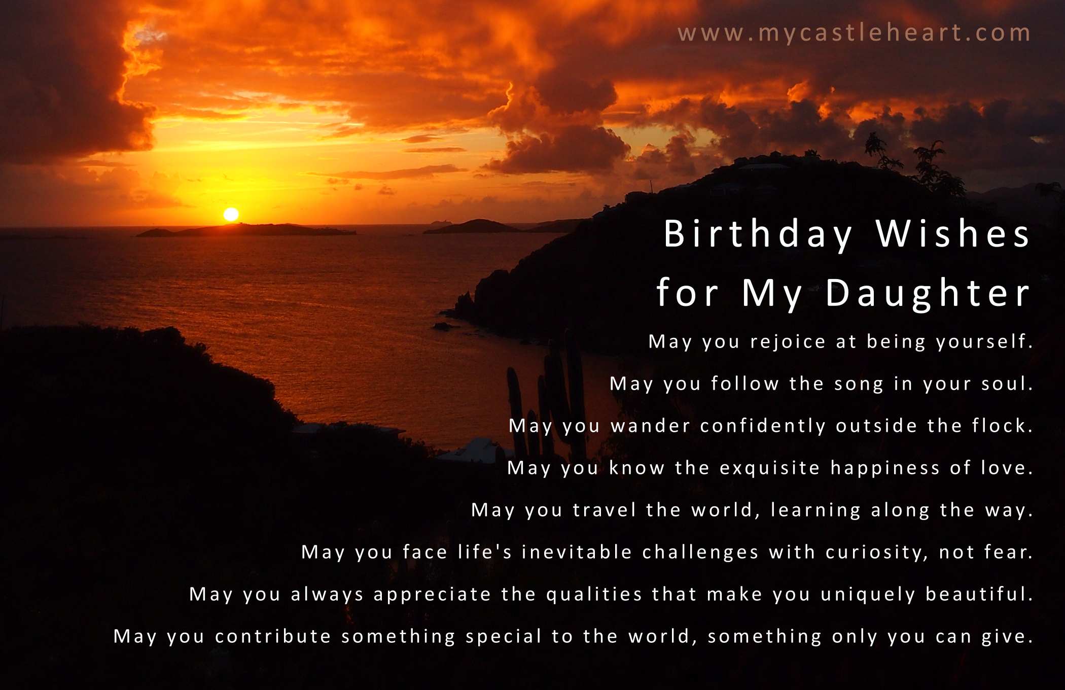 images of birthday wishes for daughter - photo #3