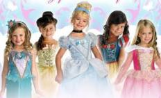 Girl Princess Halloween Costumes