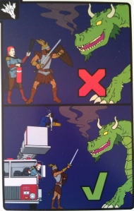 Comfort Guide Dungeons and Dragons Safety Cards