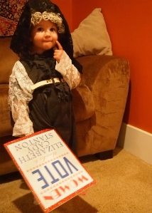 Inspiring Women Suffrage History Halloween Costume
