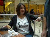 Dungeon Master Maternity T-Shirt