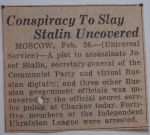 Not everyone can say they have Stalin memorabilia in their bathroom.