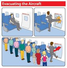 Funny Airplane Safety Card Spoof