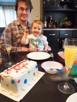 holiday birthday cake