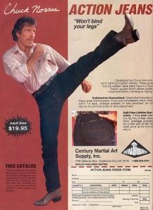 Chuck Norris Action Jeans