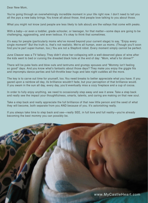 Letter to a New Mom