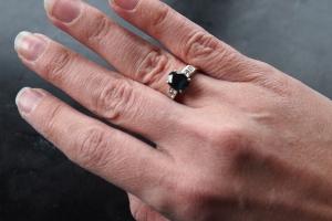 My Bangkok ring. Great story. Great memory. I never take it off.