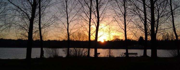 Greenlake Seattle Sunset