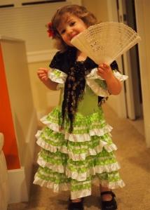 Carmen Costume