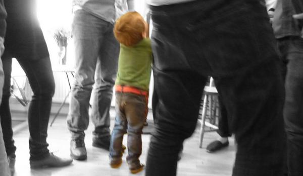 Legs Kid Perspective Denim Jungle