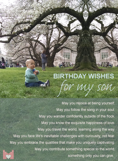 Birthday Wishes for My Son - My Castle Heart Publications