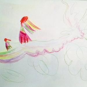 Mother Szaba art drawing