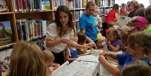 Angela Taylor Hylland Author Storytime Craft Payne Ohio